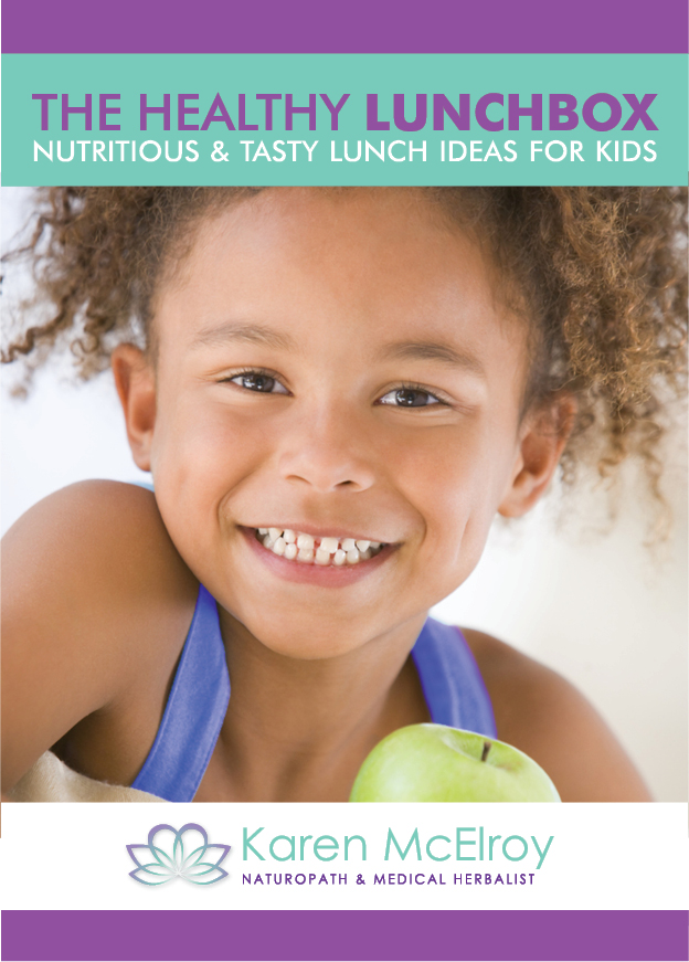 The Healthy Lunchbox by Karen McElroy